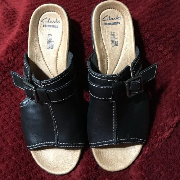 74415d5955f Clarks Shoes - Clark Leisa Gianna dress sandal black size 8